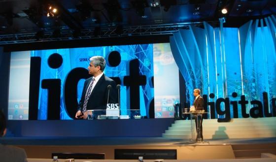 Addressing the Seoul Digital Forum, May 27, 2011