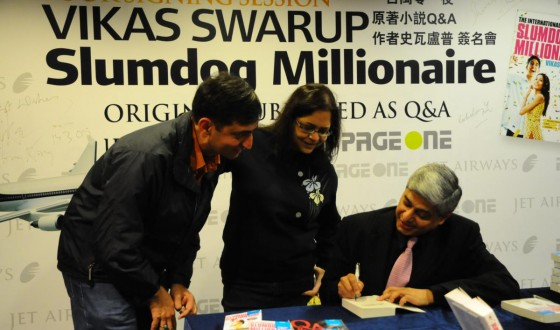 Another photo from the book signing session at Page One in Hong Kong on March 14, 2009